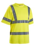 Worksafe T-shirt, 2XL, hi-vis gul