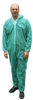 Worksafe Coverall, engangsdragt PP, grøn, XL