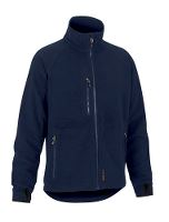 Worksafe Add Fleece jakke, L, marine