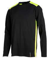 Worksafe Add Visibility T-shirt m/langt ærme, L