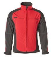 MASCOT® Dresden Softshell, 2XL, rød/sort
