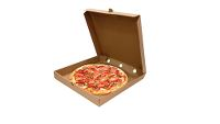 ECO Pizza Box, pizzabakke, bionedbrydelig, 300x300x40 mm