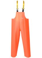 Regnoverall PVC, kraftig, 600g/m2, 2XL, orange