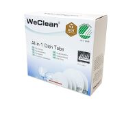 WeClean® All-in-one, opvasketabs til maskinopvask, 80 stk.