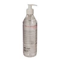 WeCare® Hand disinfection gel 85%, m/pumpe, 500 ml