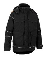 Worksafe Worker Padded Jacket, Jakke, sort, L