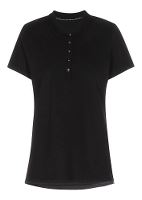 Stadsing Stretch Polo Lady, sort, M