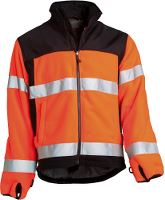 Worksafe Fleece jakke, L, hi-vis orange