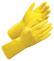 Worksafe Latexhandske velouriseret, 9