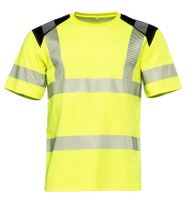 Worksafe Perform T-shirt, CI3, Hi-vis gul, S