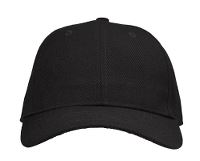 Hockey Cap, sort, onesize