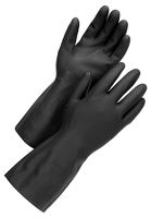 Worksafe Latexhandske, Chem 50-468 9, sort