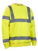 Worksafe Sweatshirt, Hi-vis gul, 2XL