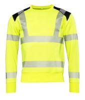 Worksafe Perform Sweatshirt CI3, Hi-vis gul, S
