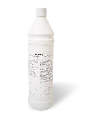 WeCare® Hand Disinfection Gel 85%, 1 ltr.