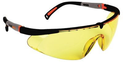Worksafe Hawk Eye brille, gul